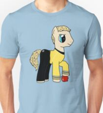 James T Kirk - Pony of the Starship Enterprise Unisex T-Shirt