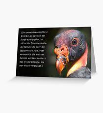 Talking Animals - Umwelt 2 Greeting Card