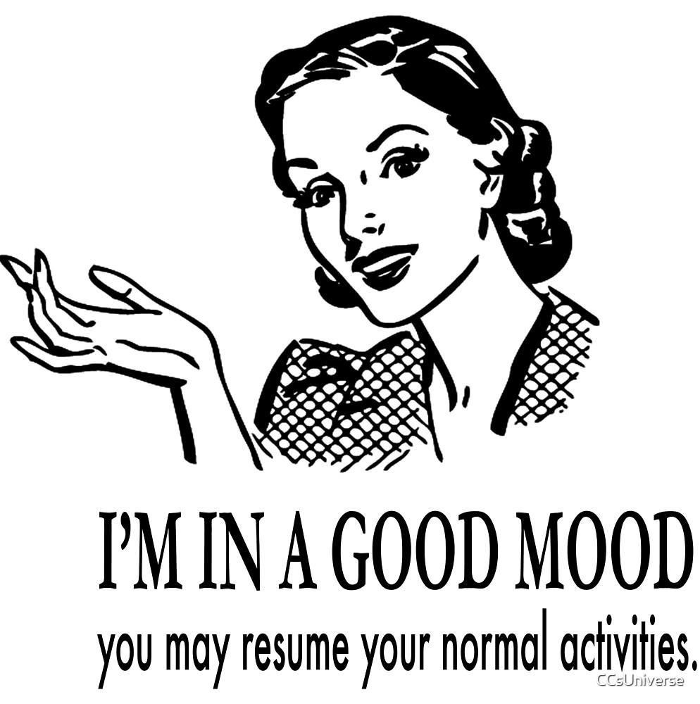 Warn the World-Good Mood (girl) by CCsUniverse