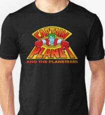 CAPTAIN PLANET AND THE PLANETEERS RETRO CLASSIC CARTOON  T-Shirt