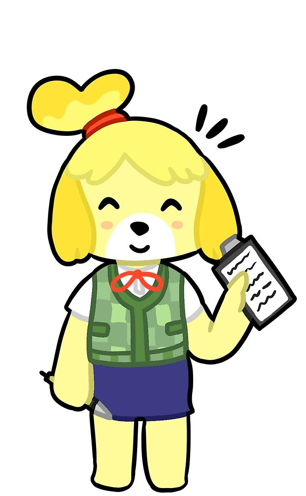 ISABELLE (ANIMAL CROSSING) by sandramcmuffin