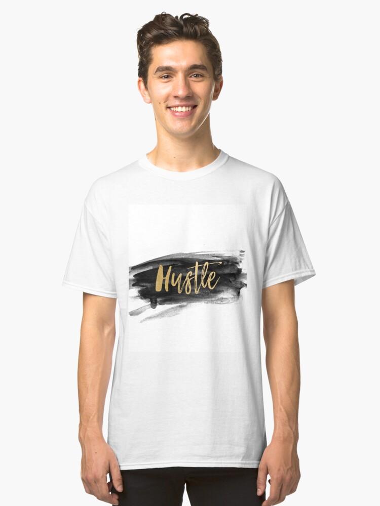 hustle Classic T-Shirt Front