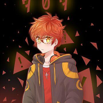 Mystic Messenger 707 by rikorisu