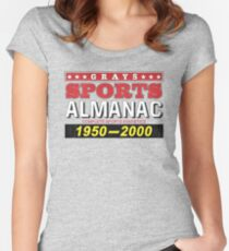 Biff's Almanac Fitted Scoop T-Shirt