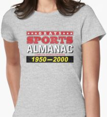 Biff's Almanac Fitted T-Shirt