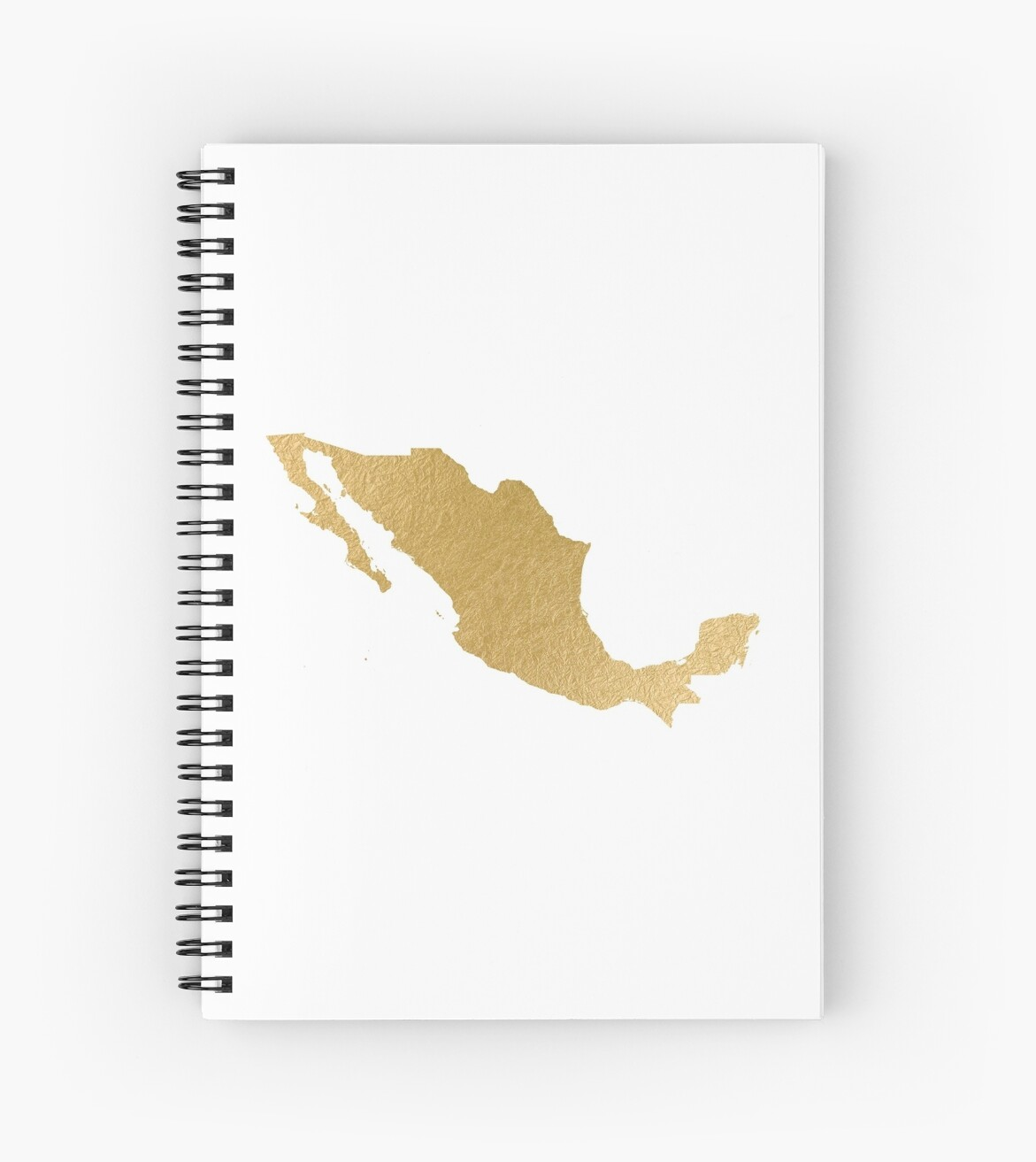 Gold mexico map by AnnaGo