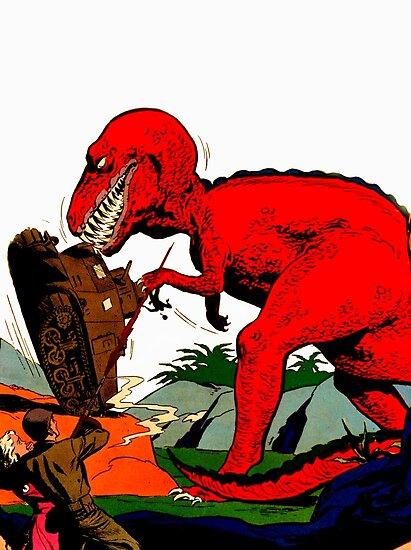 Tyrannosaurus Wrex by PerilSquad