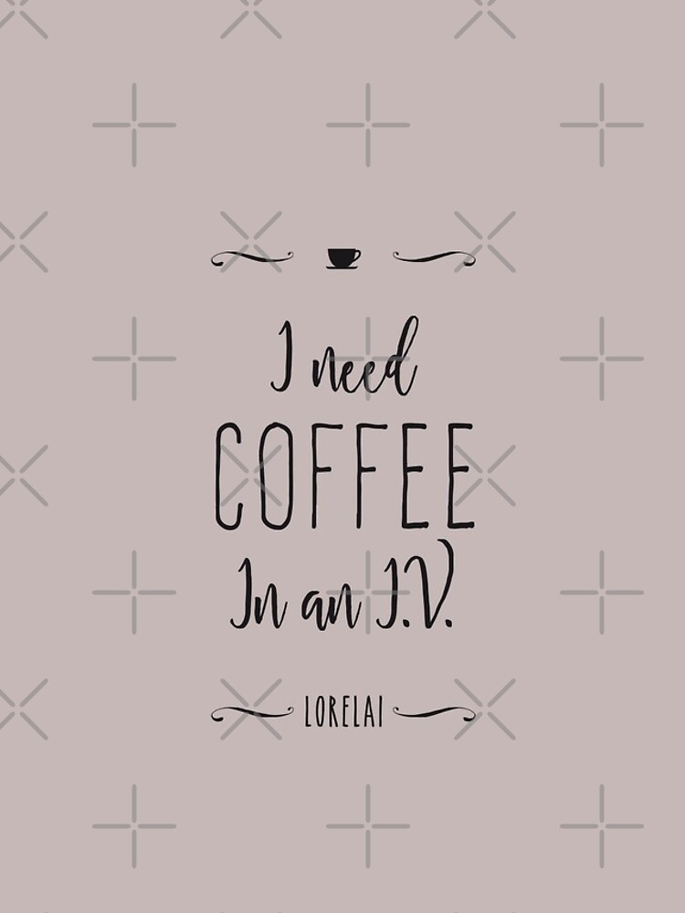 I need coffee in an I.V. by GrybDesigns
