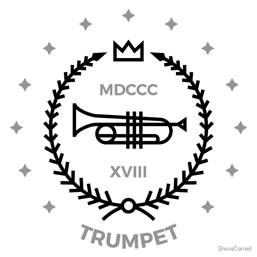 Trumpet - Black & Gray by ShaneCornell