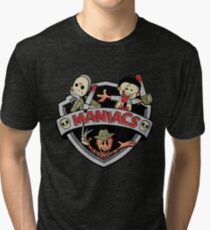 MANIACS! Tri-blend T-Shirt