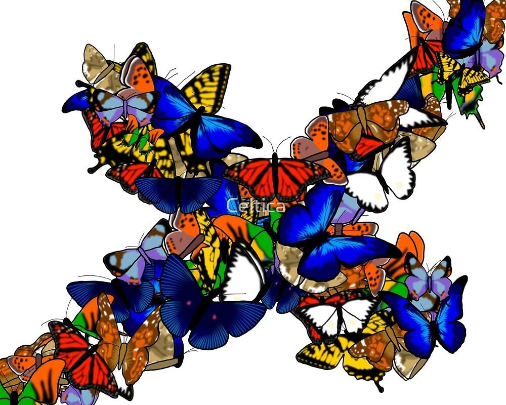 Butterfly Swarm by Celtica