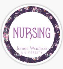 JMU Nursing Sticker