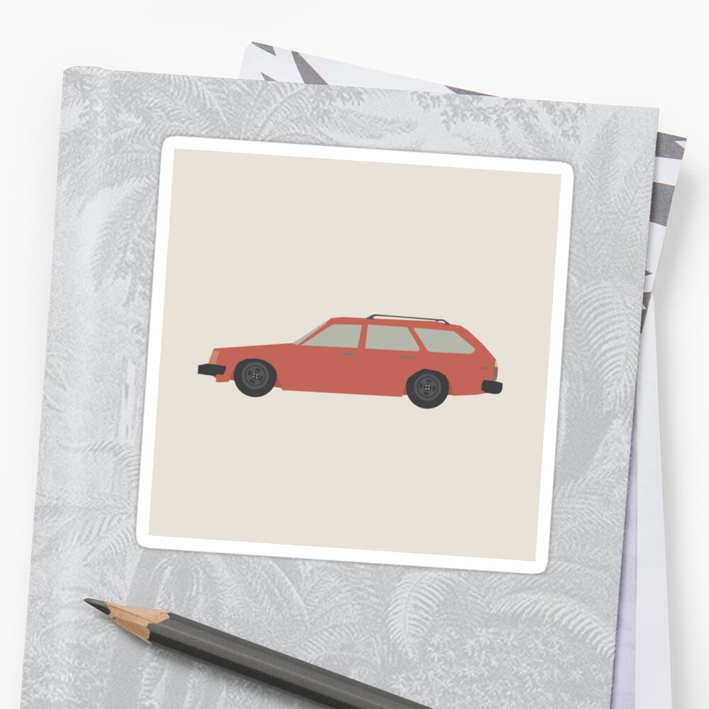 Toyota corolla wagon sticker