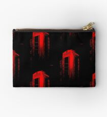 Telephone Booth Red Ink Studio Pouch