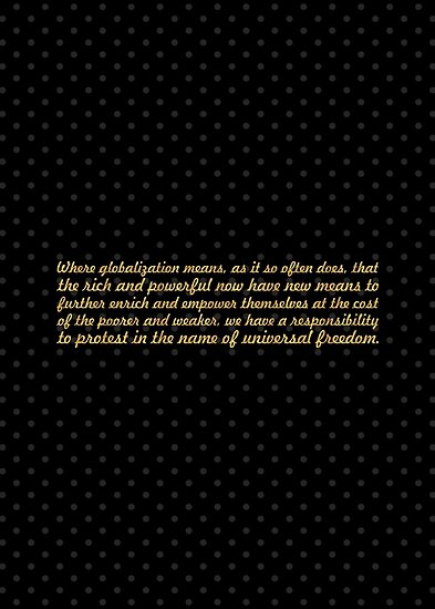 """Where globalization means... """"Nelson Mandela"""" Inspirational Quote by Powerofwordss"""