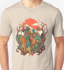 autumn sunset Unisex T-Shirt