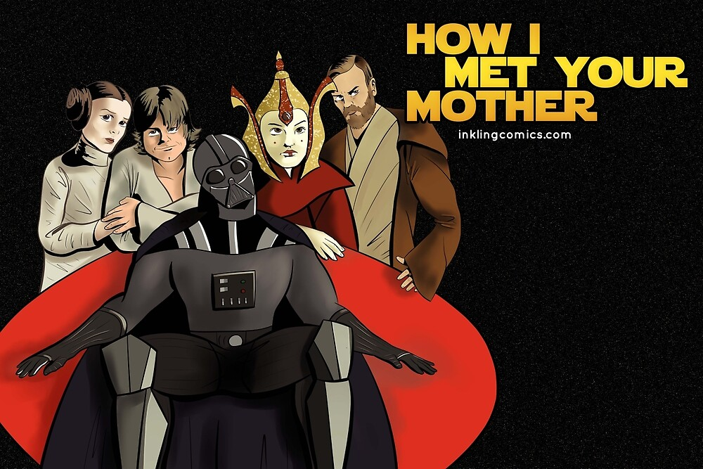 How I Met Your Mother by inklingcomics