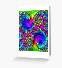 Tropical Vibrations Greeting Card