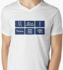 Only Connect Men's V-Neck T-Shirt
