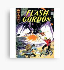 Flash Gordon Canvas Print