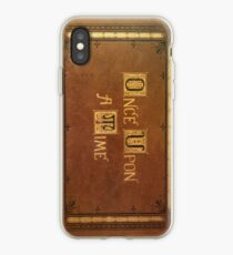 Once Upon A Time - Fitted Book Cover iPhone Case