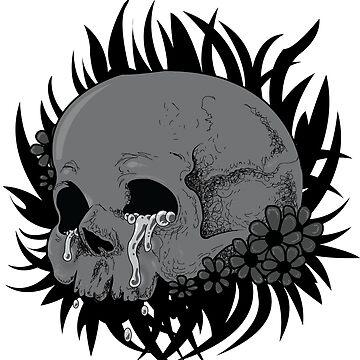 The Crying Skull by DuskAtDayBreaK