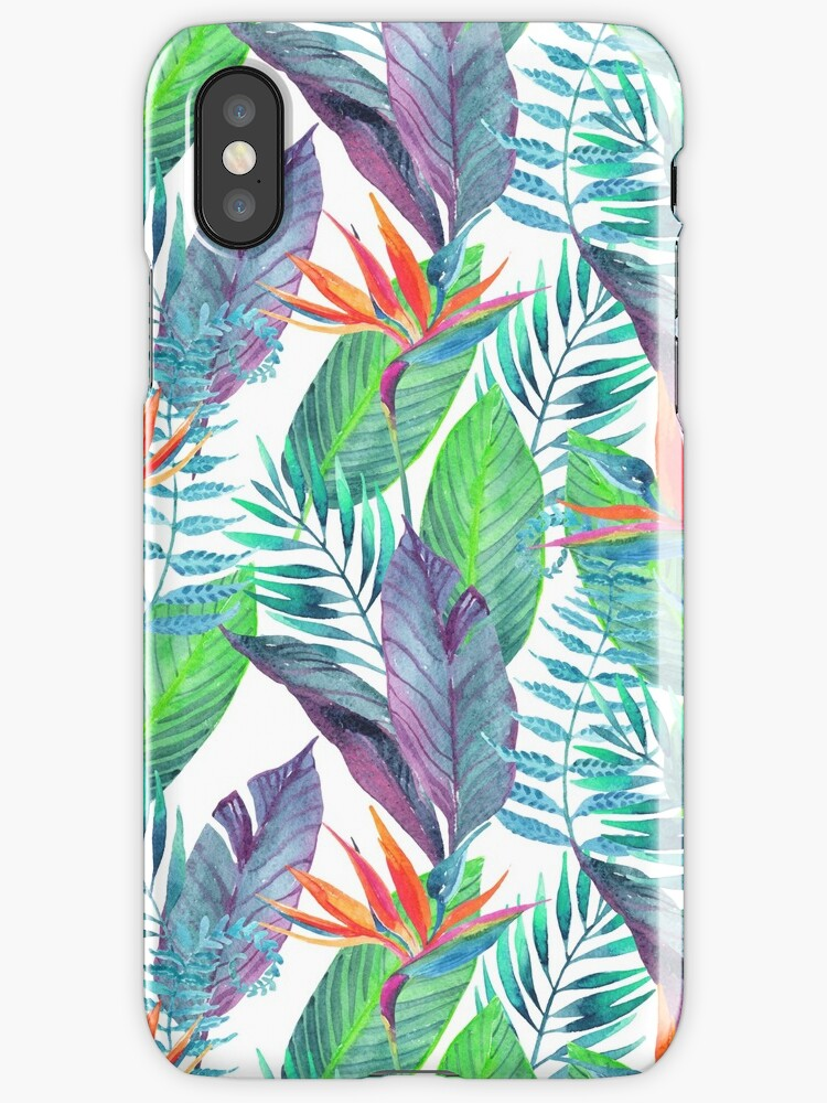 Watercolor tropical by SouthPrints