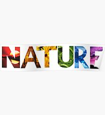 Nature Found within Nature Poster