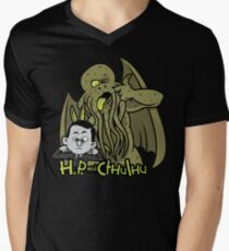H.P. and Cthulhu Men's V-Neck T-Shirt