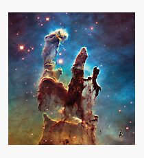 The Pillars of Creation Photographic Print