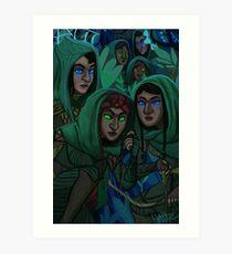 Mirkwood Elves Art Print