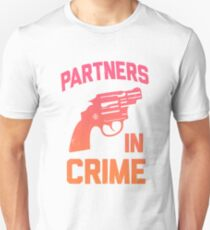 Partners In Crime 1/2 T-Shirt