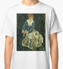 Egon Schiele - The Artists Wife Seated  Classic T-Shirt