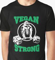 Vegan Strong Graphic T-Shirt