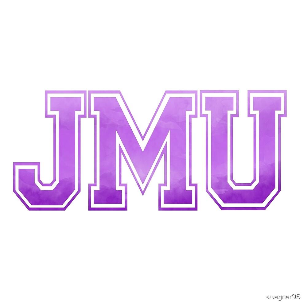 JMU Old School Letters by swagner96