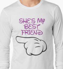 She's My Best Friend 1/2 Long Sleeve T-Shirt
