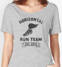 Horizontal Running Team, Est. 2013 Women's Relaxed Fit T-Shirt
