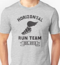 Horizontal Running Team, Est. 2013 Unisex T-Shirt
