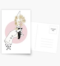 Conflicting Feelings Postcards