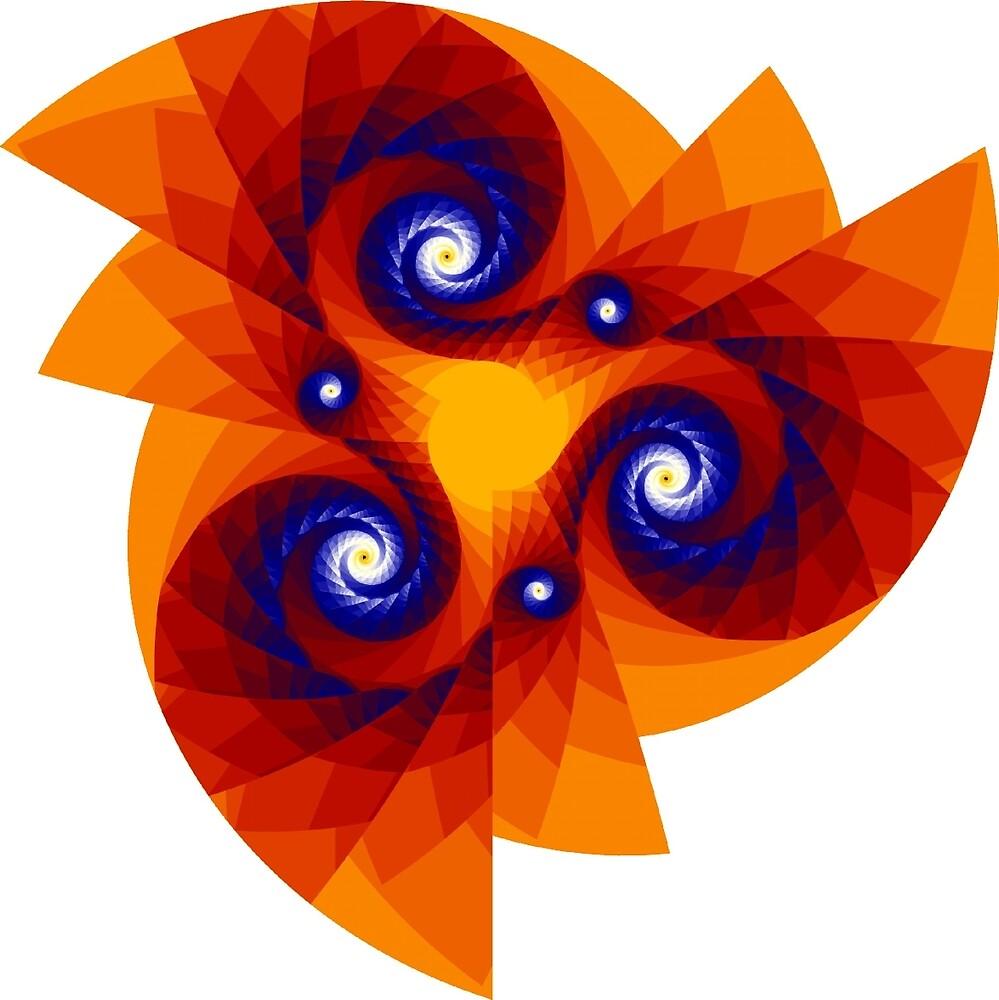 Mandala Alpha Julia I by Rupert Russell