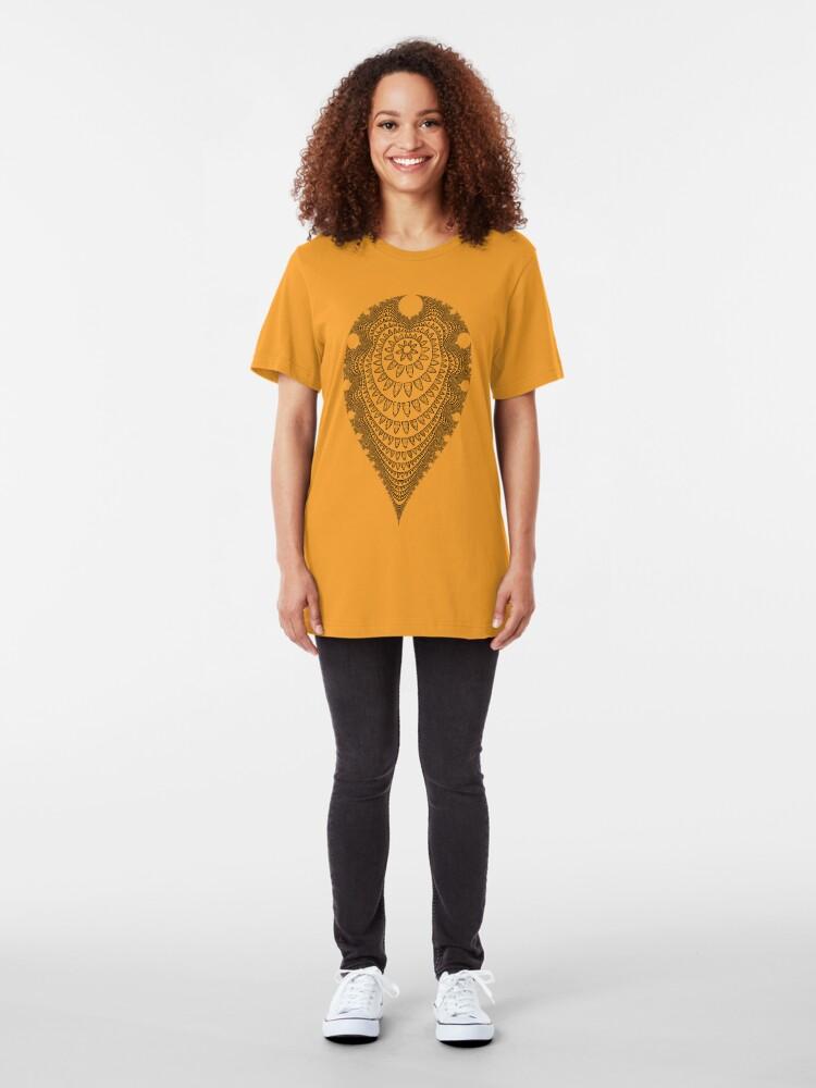 Alternate view of Mandala I Slim Fit T-Shirt