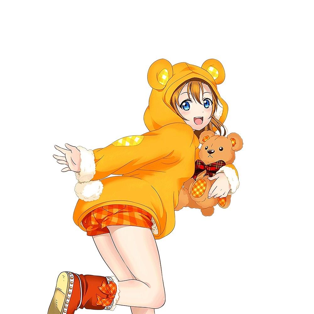 bear honoka by honaka25032001