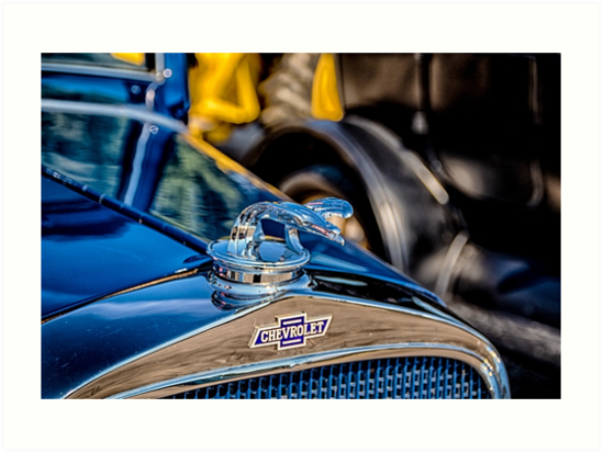 Chevrolet Hood Ornament  by JayStockhaus
