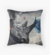Regards from Eternity Throw Pillow
