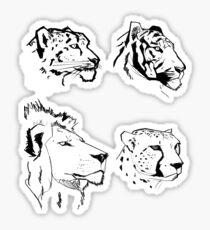 Big Cats Sticker
