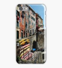 Riomaggiore Harbor iPhone Case/Skin