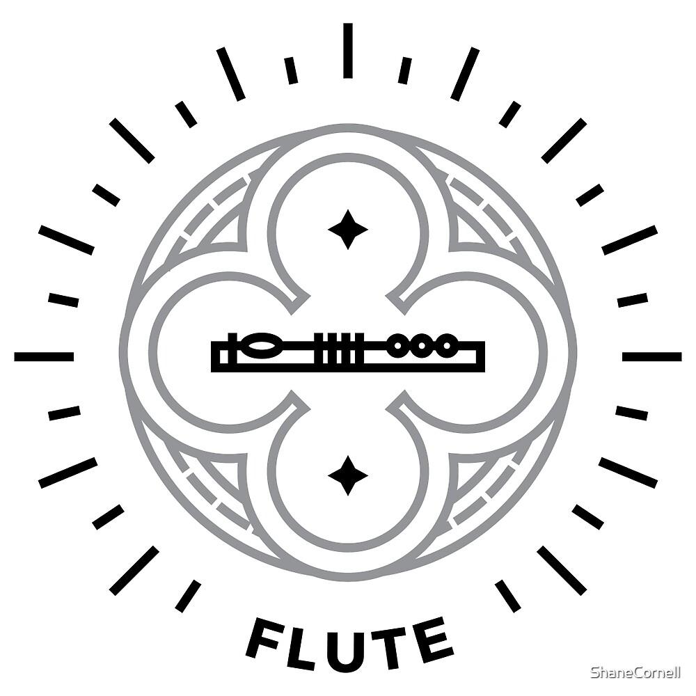 Flute - Black & Gray by ShaneCornell