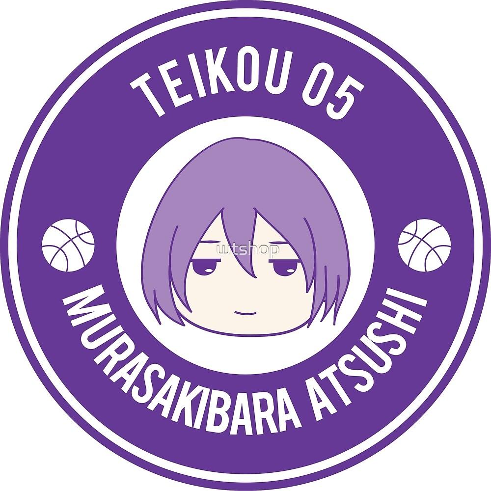 KNB Badge - Teikou 5 Murasakibara Atsushi by wtshop