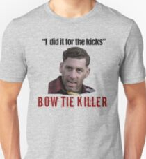 Problem Child Bow Tie Killer Quote Unisex T-Shirt