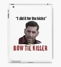 Problem Child Bow Tie Killer Quote iPad Case/Skin